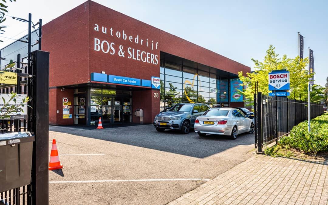 Bos en Slegers Nieuwe website